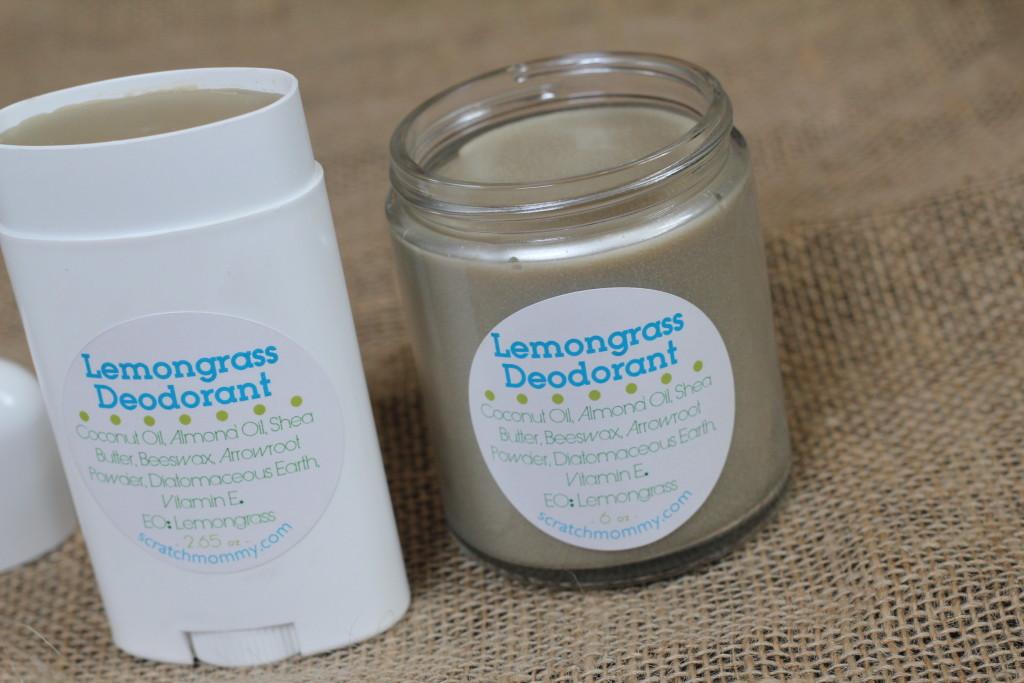 DIY Non-Toxic Deodorant Recipe (organic